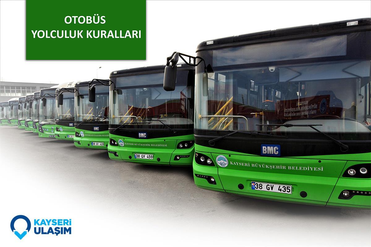 Otobüslerde çocukların taşınması ile ilgili temel kurallar